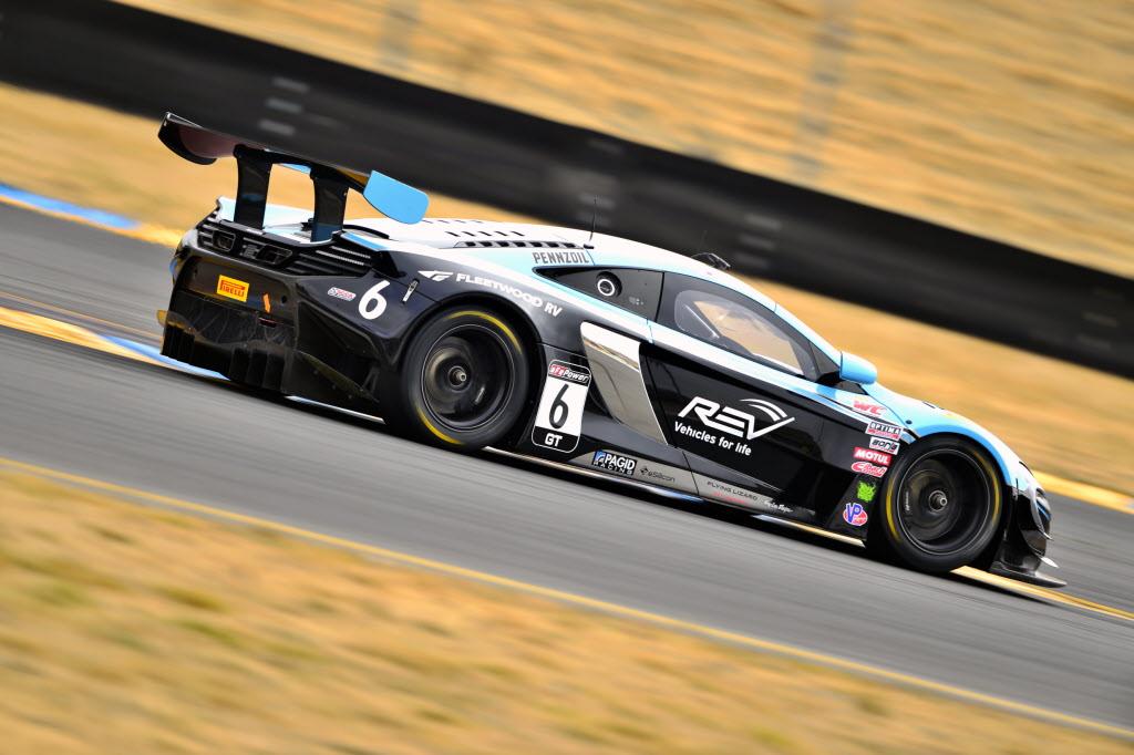 Austin Cindric at Sonoma Raceway. [Photo courtesy Pirelli World Challenge Championship]