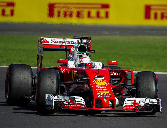 Sebastian Vettel. [Photo courtesy Autódromo Hermanos Rodríguez]