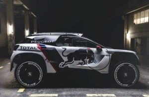 The Peugeot 3008 DKR ready for Rally Dakar 2017. [Credit: Flavien Duhamel/Red Bull Content Pool]