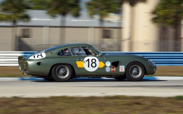 1963 Aston Martin DP214.  [Photo by Jack Webster]