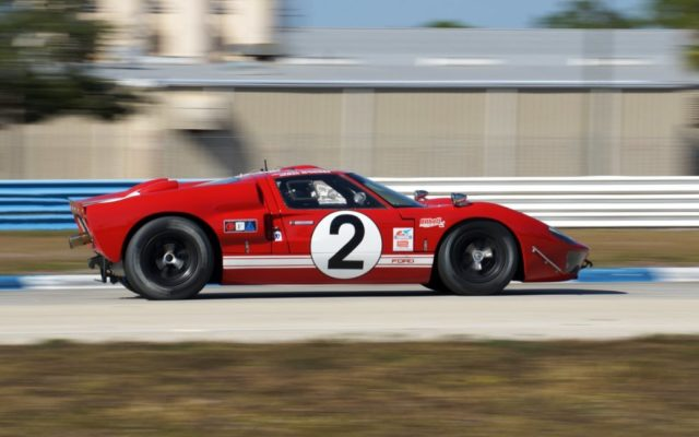 Ford GT40.  [Photo by Jack Webster]