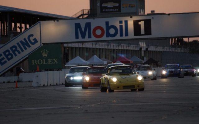Sebring race action.  [Photo by Jack Webster]