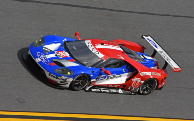GTLM pole winning Ford GT from Ford Chip Ganassi Racing.  [Joe Jennings Photo]