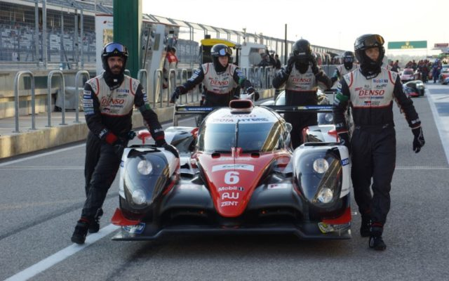 How long will Toyota stick around in the WEC?  [Photo by Jack Webster]