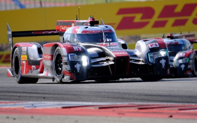 Audi R18 – now part of history.  [Photo by Jack Webster]