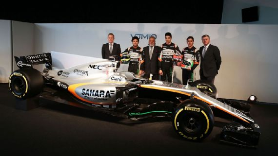 Photo courtesy of Force India