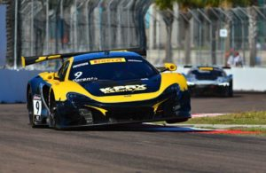 2016 champion Alvaro Parente takes his K-PAX Racing McLaren 650S to victory in the Pirelli World Championship Grand Prix of St. Petersburg. [Pirelli World Championship photo]
