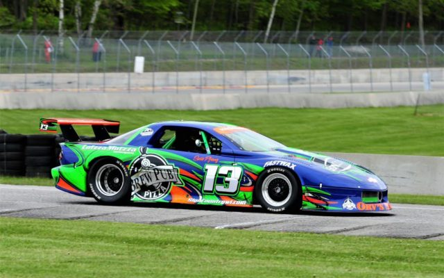 #13 Rick Pfrang (1994 Camaro) Group 10 qualifying Round 2 on Saturday at Road America.  [Dave Jensen Photo]
