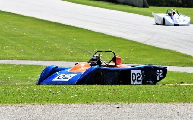 #02 Fritz Seidel (CARBIR C52) winner of Group 7A, race 2 on Sunday at Road America.  [Dave Jensen Photo]