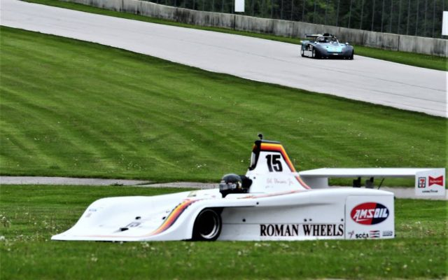 #15 Charles Parsons (GALLAS GR3) winner of Group 5 7b race 2 on Sunday at Road America.  [Dave Jensen Photo]