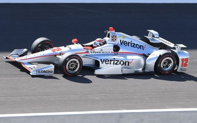 Fastest for the day in Tuesday's practice at the Indianapolis Motor Speedway: Will Power.  [Russ Lake Photo]