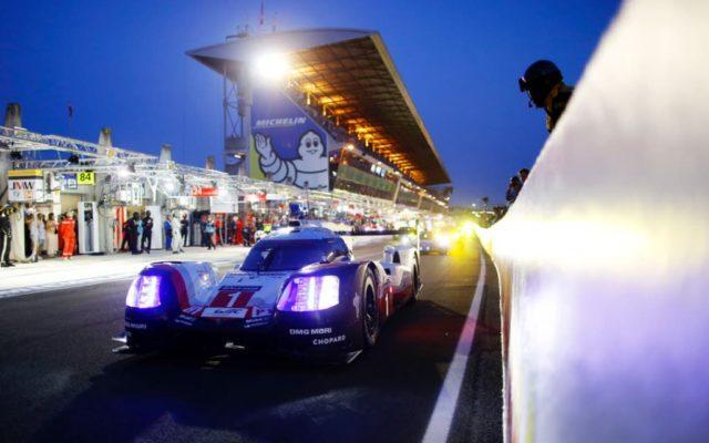 The #1 Porsche 919 led for a large part of the race, but failed.  [Photo by Porsche Motorsport]