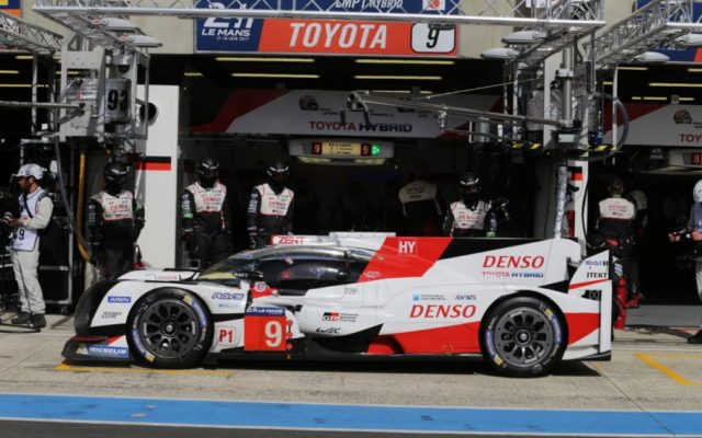 Toyota's effort fell short at Le Mans.  [Photo by Toyota Motorsport GmbH]