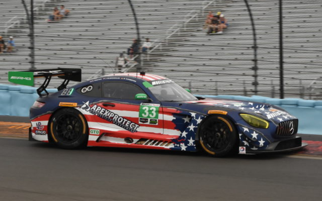 Patriotism reigned supreme with the liveries at Watkins Glen:  Mercedes-AMG GT3.  [Joe Jennings Photo]