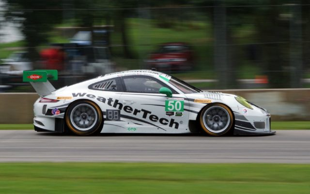 WeatherTech racing swapped their Mercedes for a Porsche at Road America.  [Jack Webster Photo]