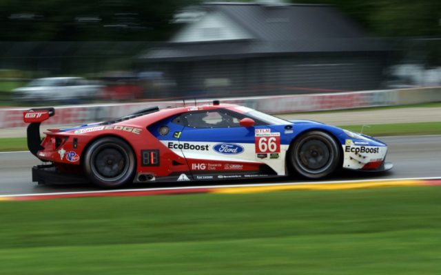 Ford GT at speed.  [Jack Webster Photo]