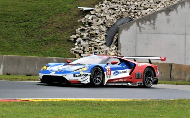 #67 Ryan Briscoe/Richard Westbrook (FORD GT).  [Dave Jensen Photo]
