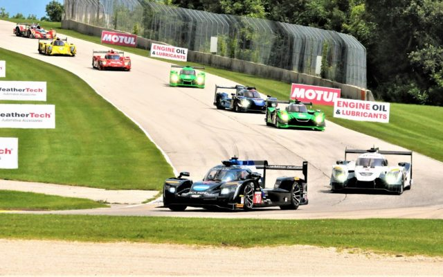 Start of the Continental Tire Road Race for the IMSA Weather Tech Sportscar Championship.  [Dave Jensen Photo]