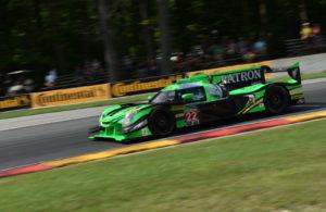 Winning Nissan Dpi at Road America driven by Luis Felipe Derani and Johannes van Overbeek. [John Wiedemann Photo]