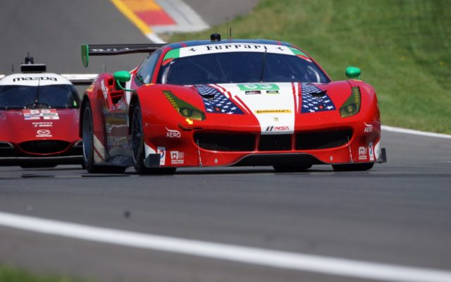Will Christina Nielsen and Alessandro Balzan lead Ferrari to GTD honors?  [Photo by Jack Webster]