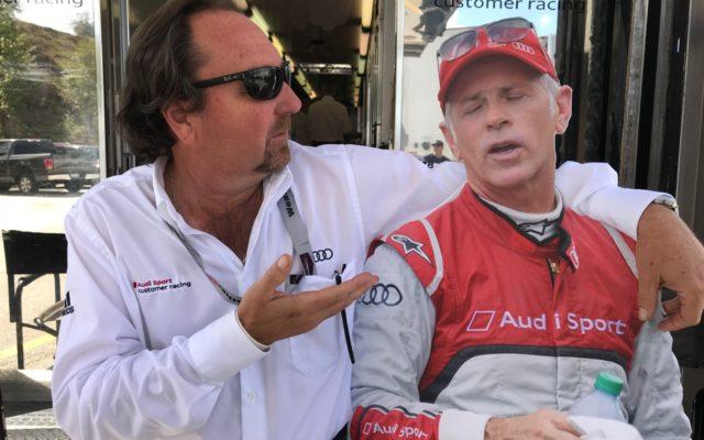 Brad Kettler giving Dindo advice.  [Jack Webster Photo]