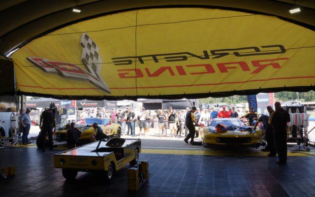Corvette garage.  [Photo by Jack Webster]