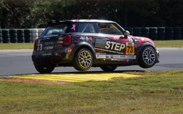 Mini action during the Continental race at Road Atlanta.  [Photo by Jack Webster]