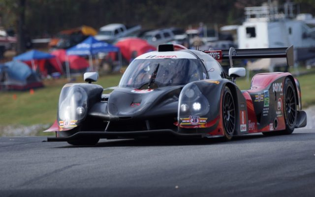 Kenton Koch takes his second win of the weekend in LMP3.  [Photo by Jack Webster]