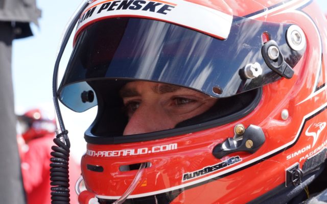 Simon Pagenaud.  [Photo by Jack Webster]