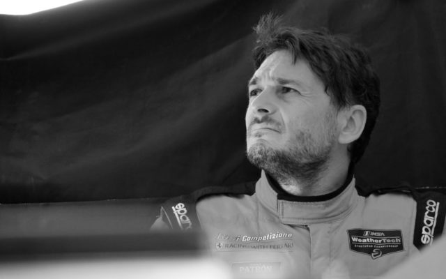 Giancarlo Fisichella.  [Photo by Jack Webster]
