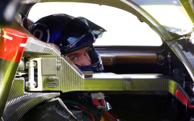 Nick Heidfeld.  [Photo by Jack Webster]