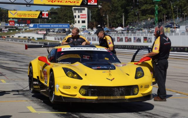 Corvette starts third in GTLM.  [Photo by Jack Webster]