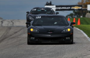 Heading into Turn One during a Track Day session at Road America. [John Wiedemann Photo]