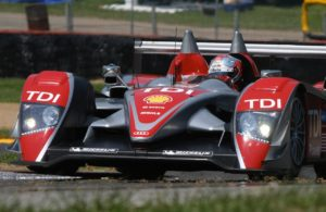 Dindo Capello in the Audi R10 TDI. [Photo by Jack Webster]