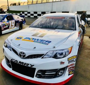 Hailie Deegan's new ride for the 2018 NASCAR K&N Pro Series West season. [photo courtesy Hailie Deegan]