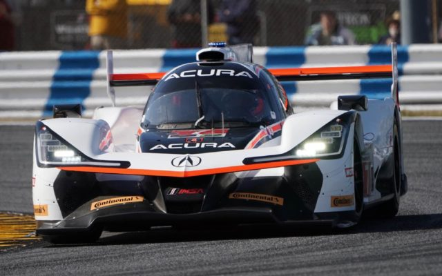 Helio Castroneves was only a tick, .007 seconds, behind the Cadillac for the pole.  [Photo by Jack Webster]