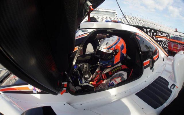 Ricky Taylor ready to go.  [Jack Webster Photo]