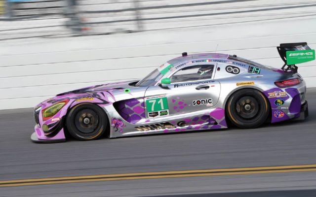 P1 Motorsports Mercedes AMG GT3.  [Jack Webster Photo]