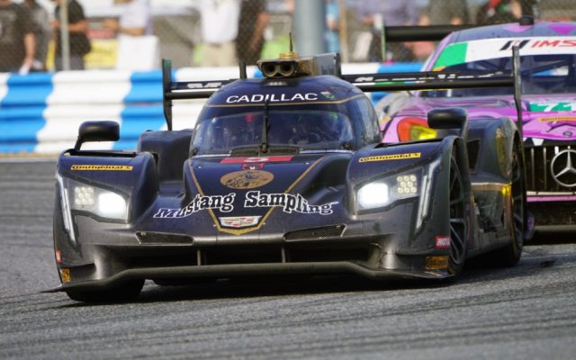 The winning Cadillac DPi.  [Photo by Jack Webster]
