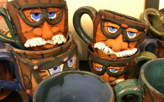 The very popular Wayne Carini mug.  [Photo by Jack Webster]
