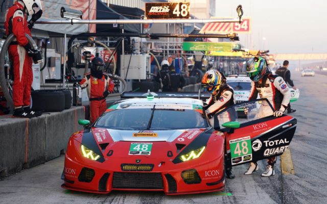 Paul Miller Racing took GTD honors for Lamborghini.  [Photo by Jack Webster]
