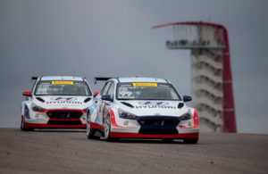 Bryan Herta Autosport drivers Mark Wilkins and Michael Lewis dominate the PWC Grand Prix of Texas at Circuit of the Americas. (photo by Brian Cleary/BCPix.com)