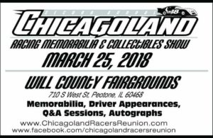 Chicagoland Racing Memorabilia & Collectibles Show