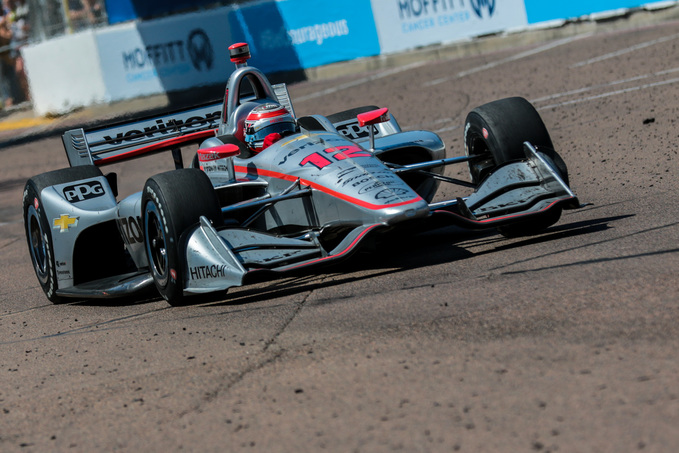 Will Power at the Grand Prix of St Petersburg. [credit Andy Clary / Spacesuit Media]
