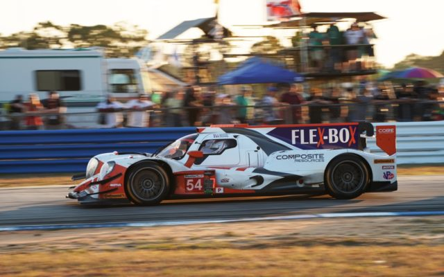 Romain Dumas late in the day at Sebring.  [Photo by Jack Webster]