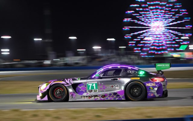 Mercedes at Daytona.  [Photo by Jack Webster]