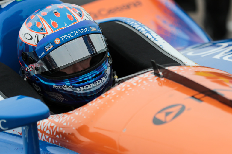 After a second place finish last season, Scott Dixon is looking for a little more at Barber Motorsports Park this weekend. © [Andy Clary / Spacesuit Media]