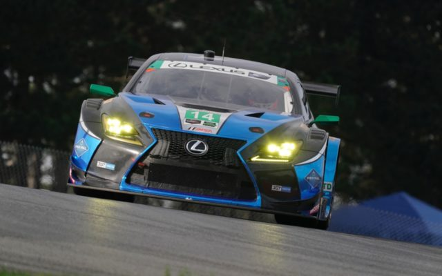Acura Sports Car Challenge at Mid-Ohio GTD Class winning Lexus RCF GT3.  [Photo by Jack Webster]