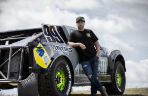 Kyle LeDuc and his truck.
