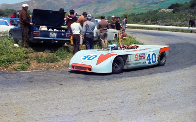Porsche 908 at the Targa Florio.  [photo by Porsche Motorsport]